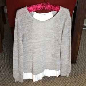Clu +Willoughby Grey Sweater